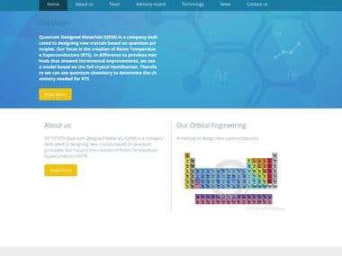 Quantum Designed Materials QDM