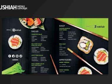 sushiah menu