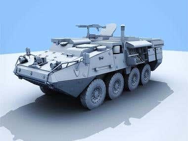 Striker Vehicle Model.