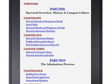 Multi Level TOC for Kindle & ePub