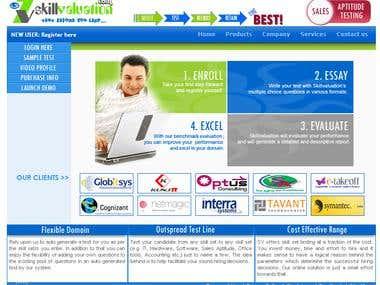 Online Employee Test Portal