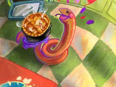 Drake the Baker Snake
