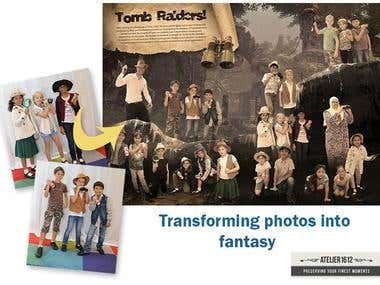 Transforming photos into fantasy!