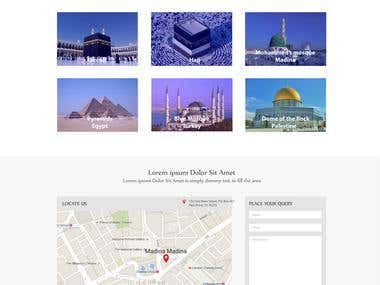 Website for Hajj  info