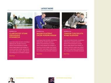 Bootstrap responsive webite