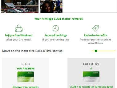 Europcar Email Template