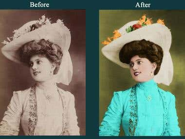 colorization of photos