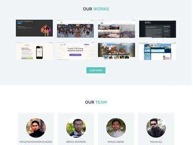 responsive html5 site with PHP backend