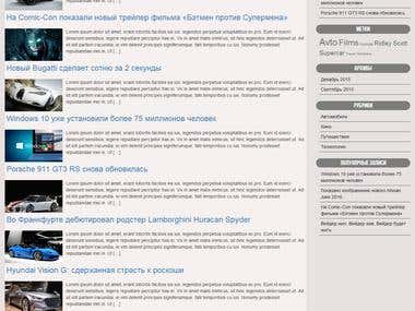 Responsive websites/blog, wordpress