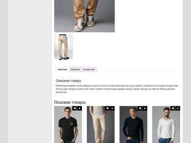 Wordpress & responsive online store on woocommerce