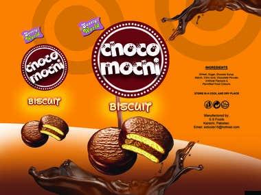 Choco Mochi Biscuit