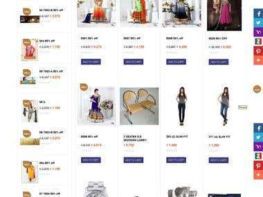 Online Shop E-Commerce Web Site