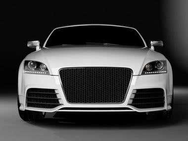 Render Audi
