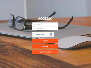 Site for business consultant