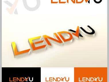 LendYu Logo Branding and  Website