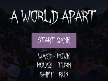 A World Apart - 5 Day Game Jam