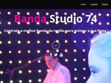 Web Site   Banda Studio 74