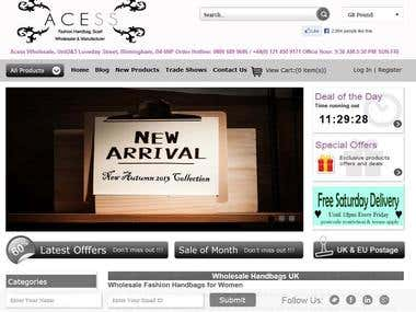 WholeSale Handbags Site Acess UK
