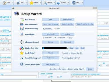 Windows Desktop application