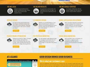 HTML5 (Landing page)