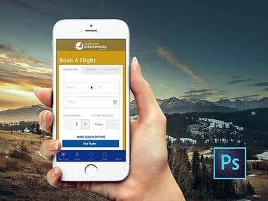 Travel iOS App UI/UX