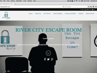 Presentation Page River City Escape Room
