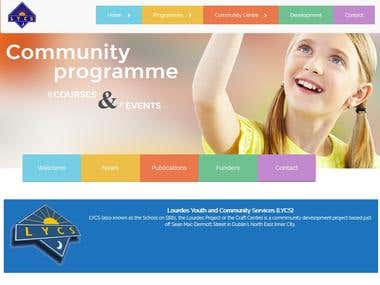 New website for http://www.lycs.ie/LYCSweb/ similar design c