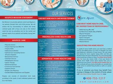 brochure design for leading hospitals