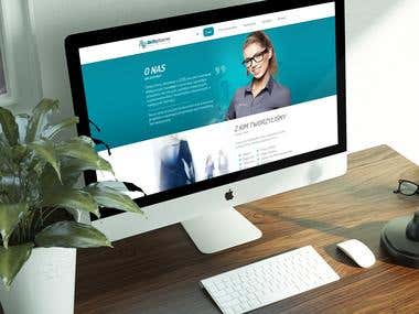 CRM and One page for pharmacy company,