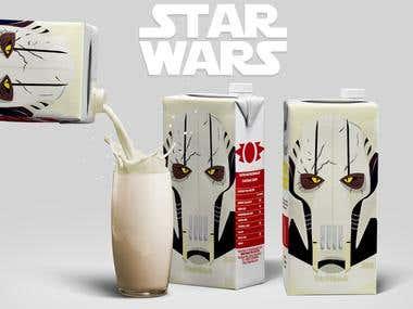 Star Wars Milkshakes