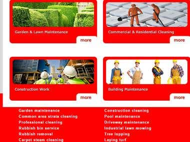 Construction / Maintenance / Cleaning Service Provider