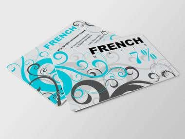 French nails discount cards