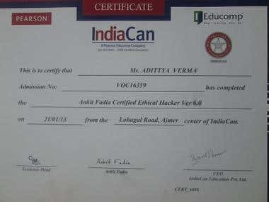 AFCEH hacking certificate