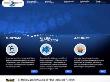 Rocksoft Web Site