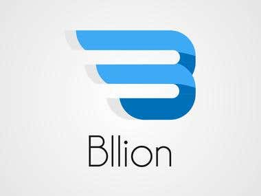 Logo design for Bllion.