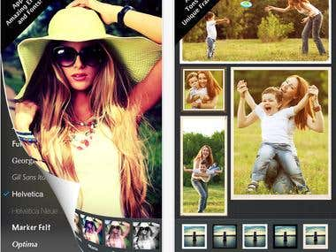Photo Editor - Photo Sharing System