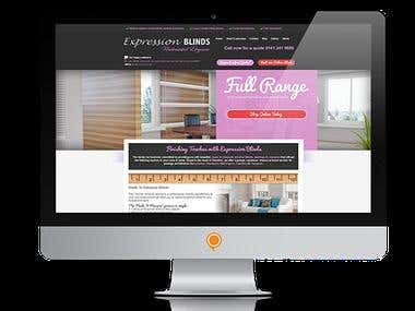 Wordpress Home Page Redesign