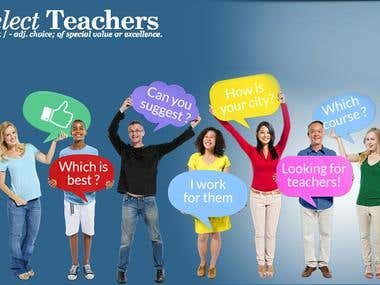 Teacher's network using BuddyPress