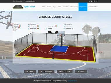 Sport Court (Online Court builder)