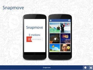 snapmove app layout