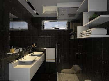 Modern 1 Level House