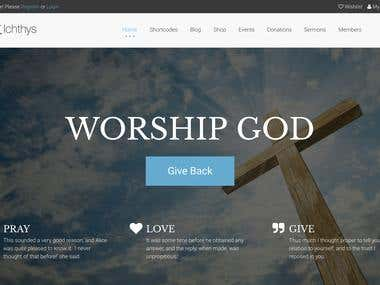 ICHTHYS – Church WordPress