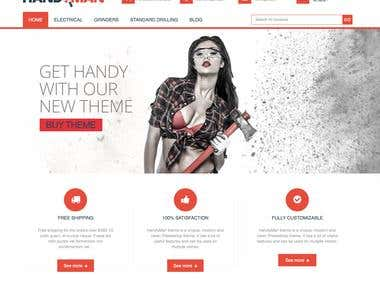 Handyman – PrestaShop Business Construction