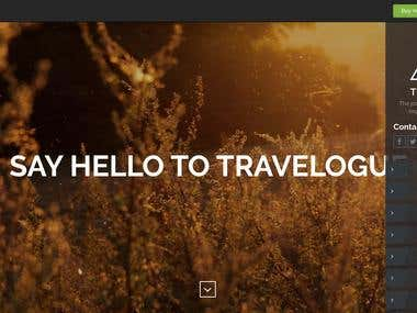 Travelogue Travel Blog WordPress