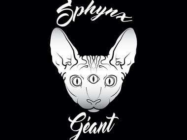 Sphynx Géant Logo for Cap