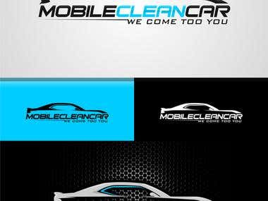 Mobile Clean Car Logo Design