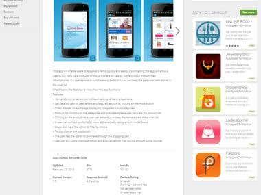 KidsStore - Android App