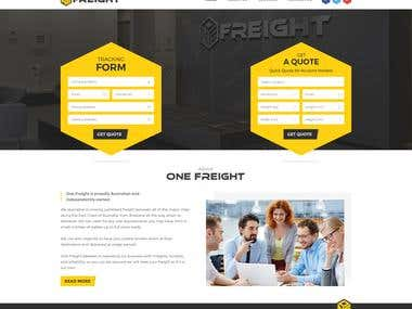 Logistics Web Design & Custom WordPress Development