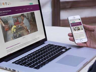 BCGL Responsive website