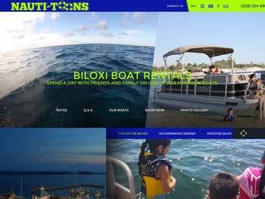 Boat Booking Website
